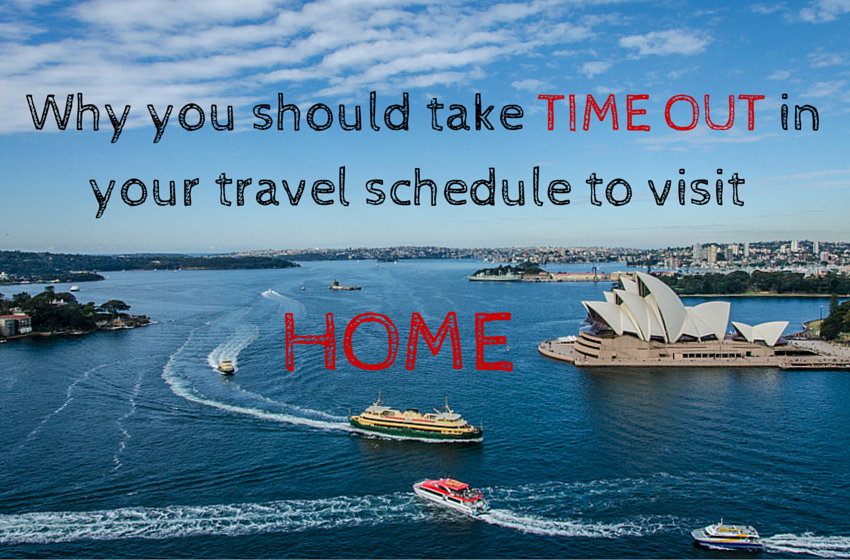 Why you should take time out in your travel