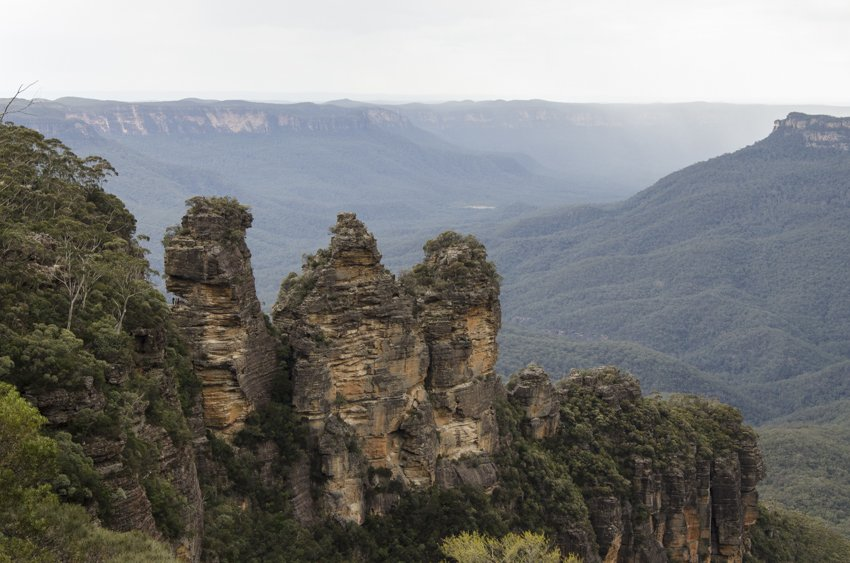 The Three Sisters, The Blue Mountains