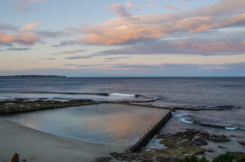 Oak Park rock pool, Cronulla