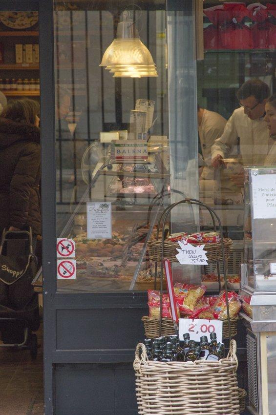 The local cheesemonger at Rue Mouffetard
