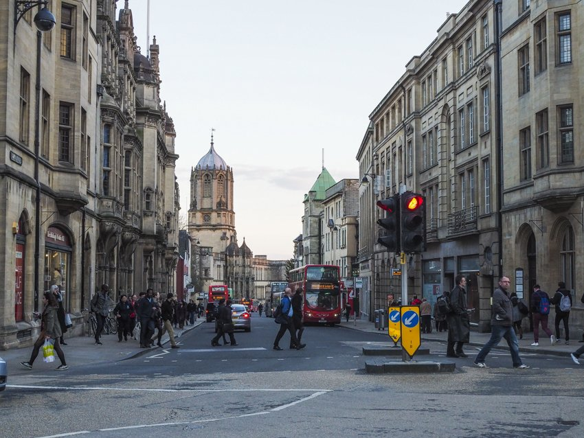 Oxford city centre
