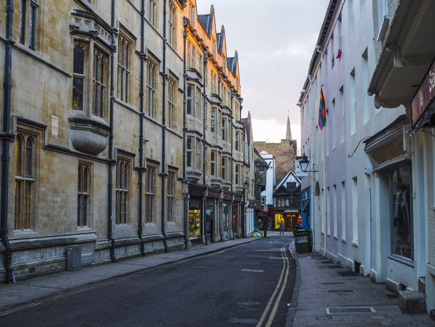 Wandering the streets of Oxford