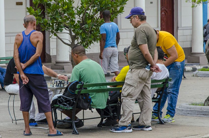 Chess players in Cienfuegos - people