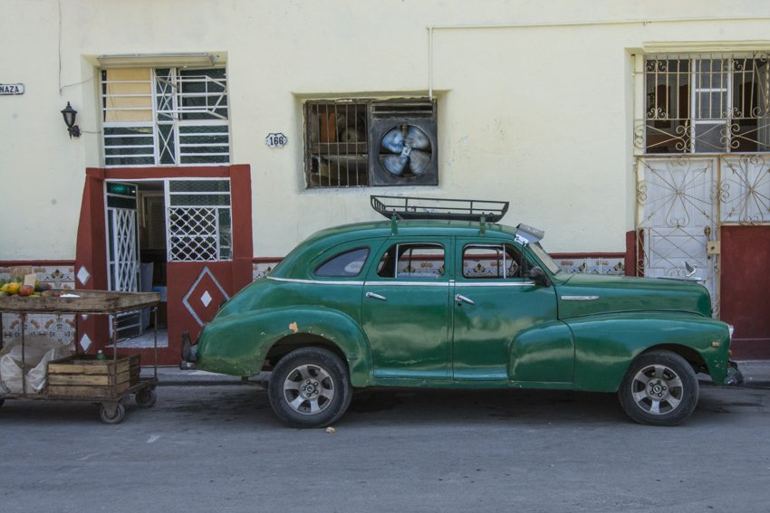A classic in La Havana