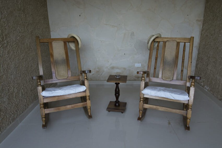 Our personal rocking chairs-casas particulares