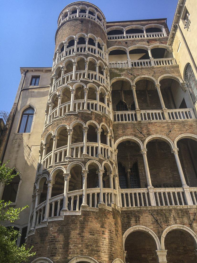 Scala Contarini del Bovolo Venice Italy