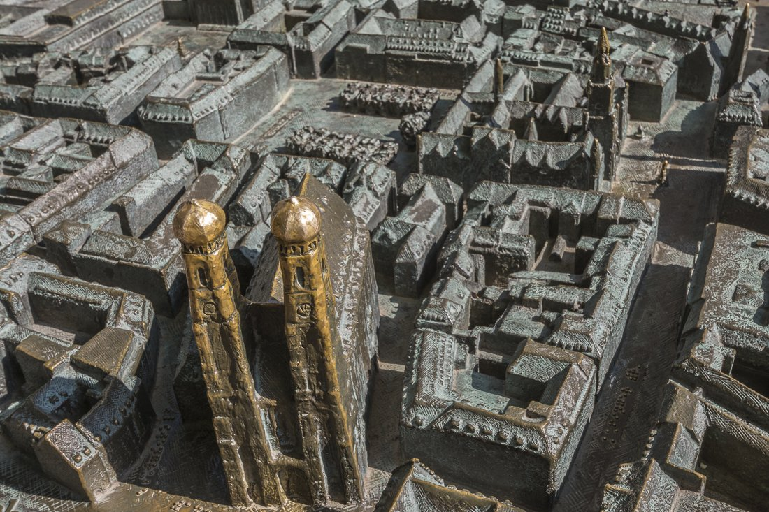 Brass city model in Munich