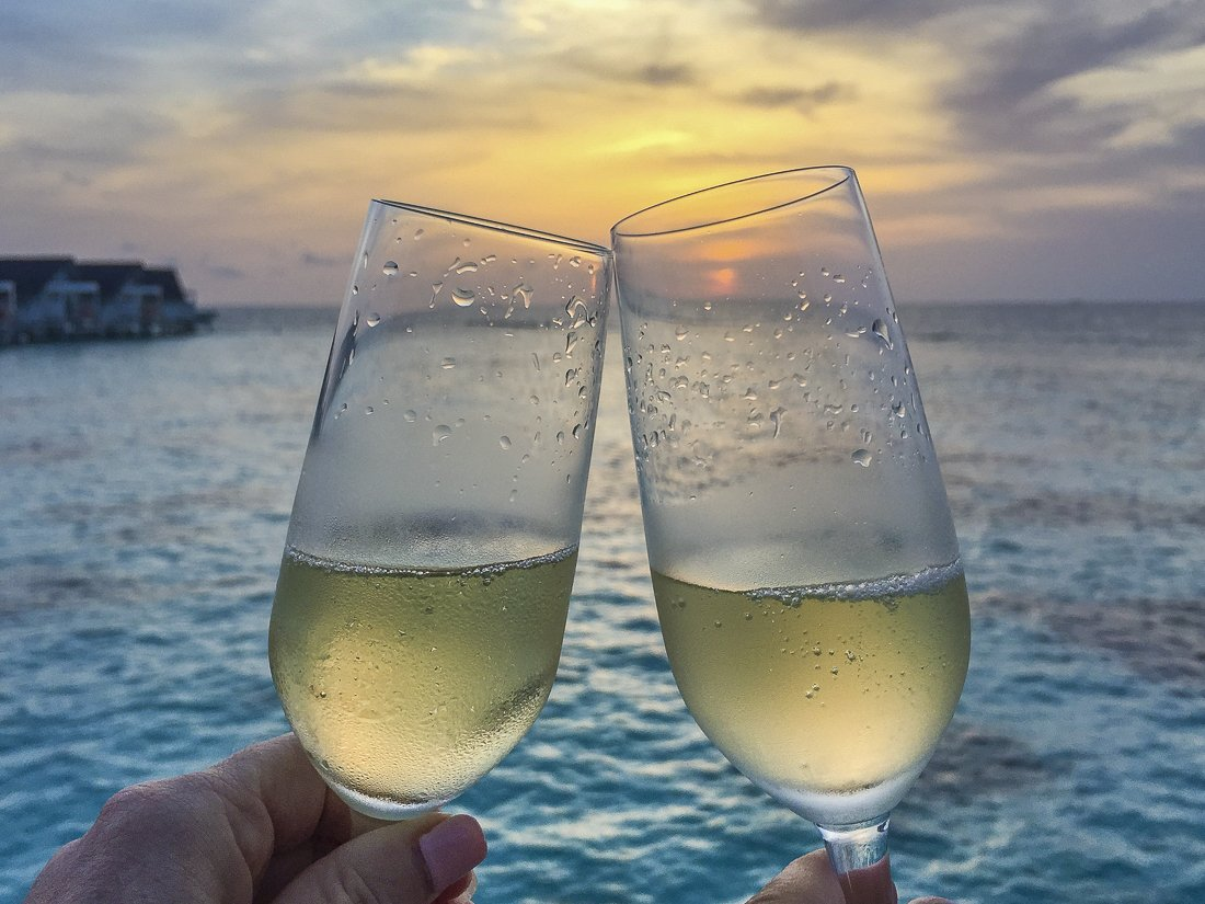 Cheers from the Maldives