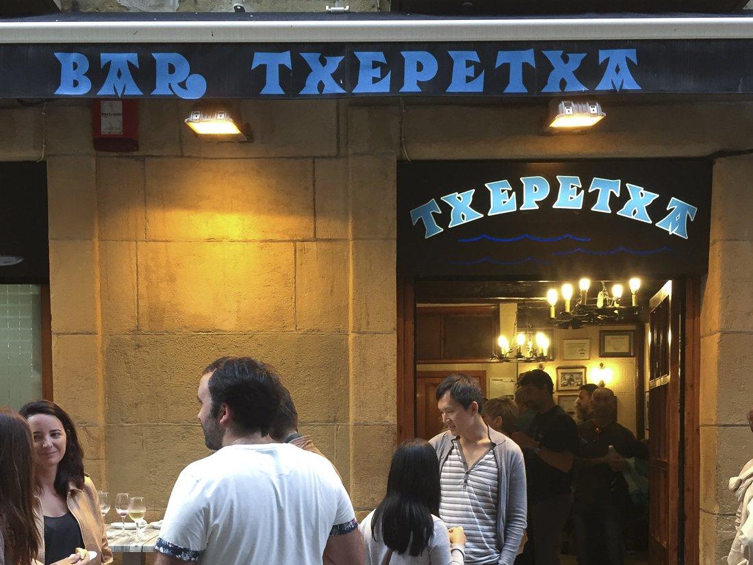 Bar Txepetxa, San Sebastián