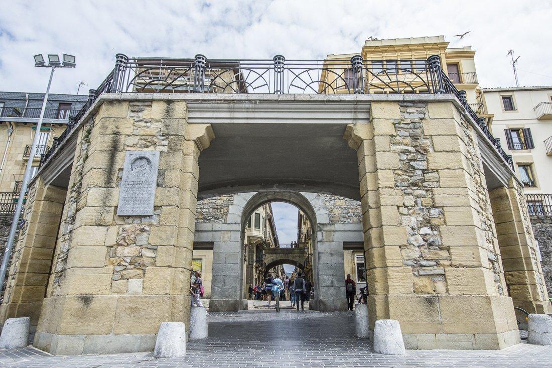 Gate to the Old town, San Sebastián