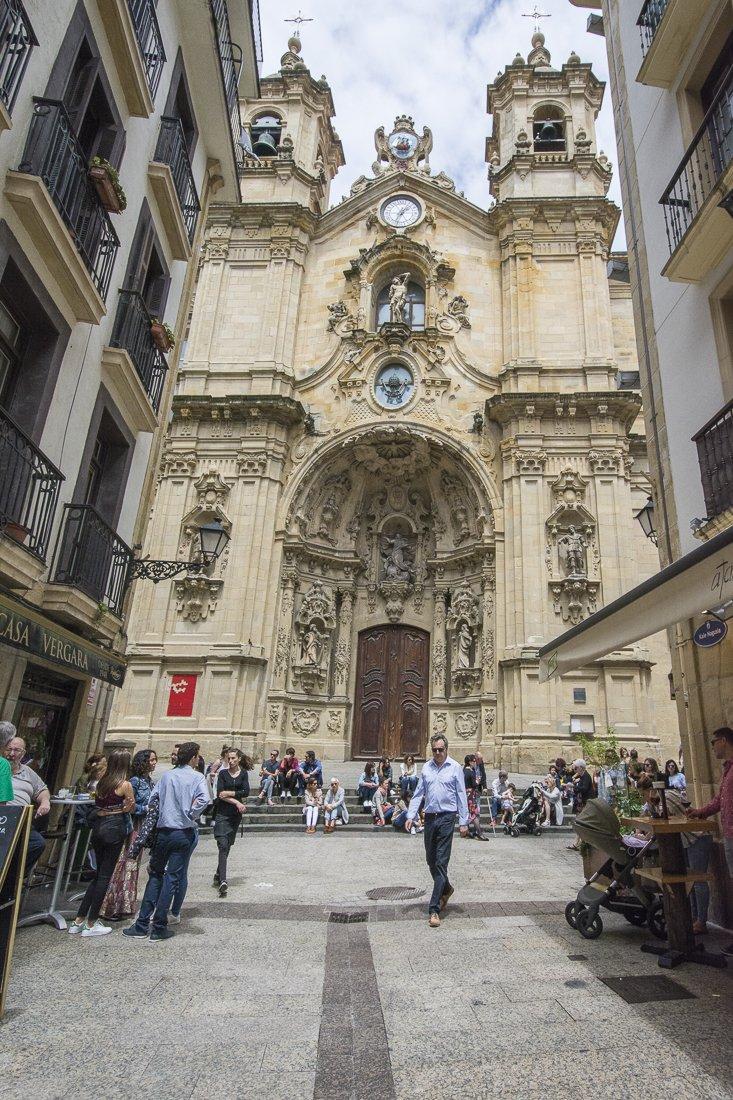 Walking the Parte Vieja, San Sebastián