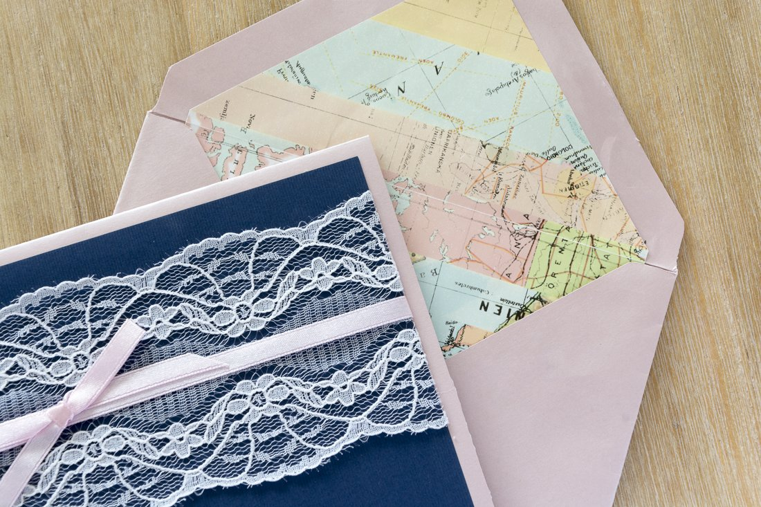 Maps and invitations