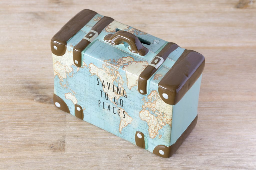 Map money box