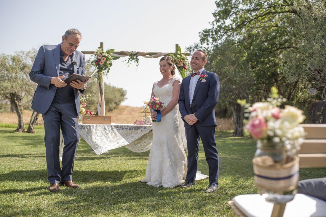 Toby, master of ceremony