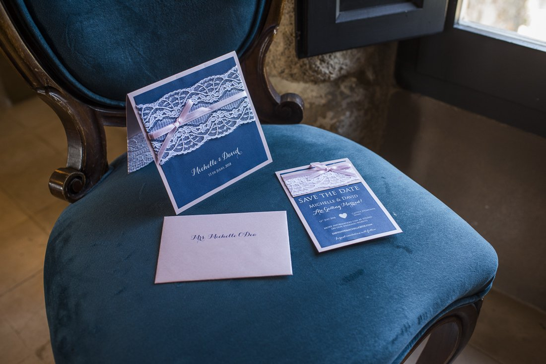 Save the date cards are important for a destination wedding