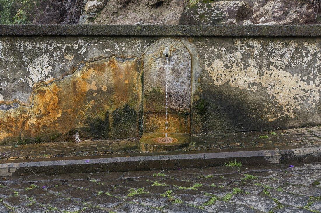 Iron waters at Caldeiras das Furnas