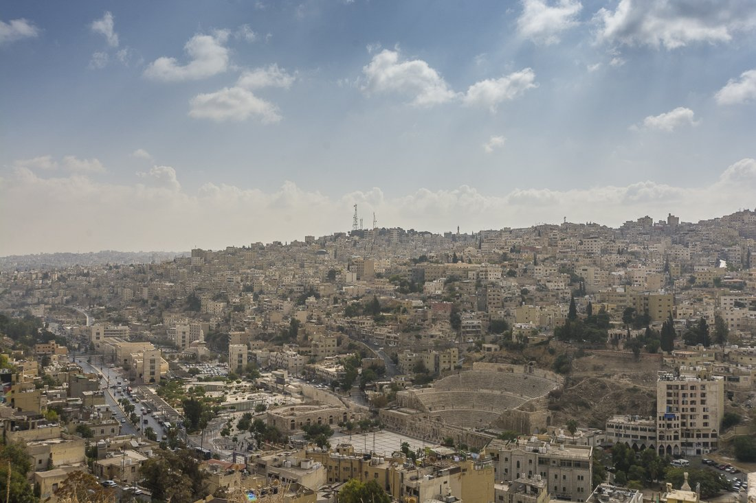 A view of Amman