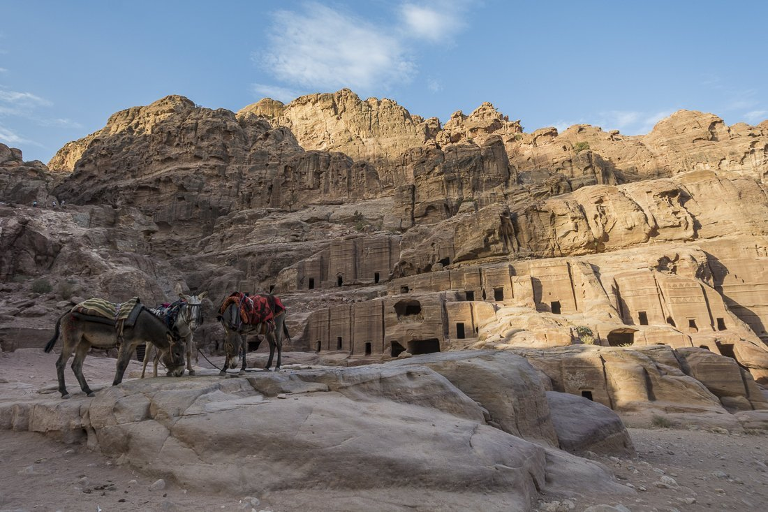 The tombs of Petra