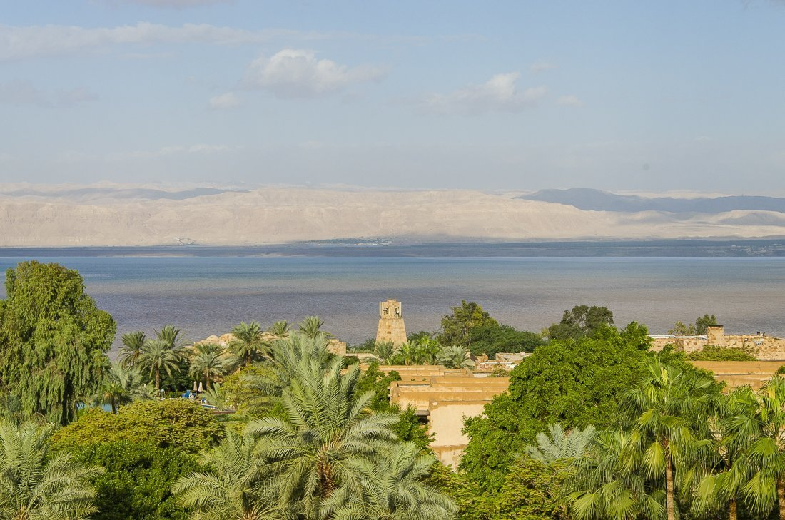 The Dead Sea and Israel on the other side