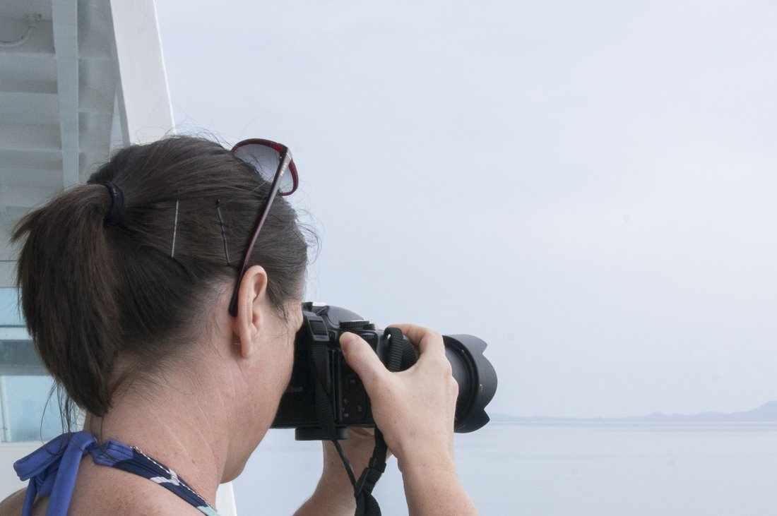 Travel photography, on the ferry to Koh Samui, Thailand