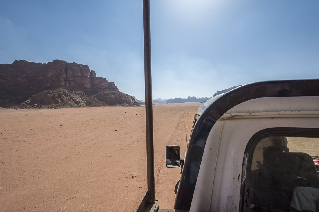 On our way to Lawrence Spring, Wadi Rum