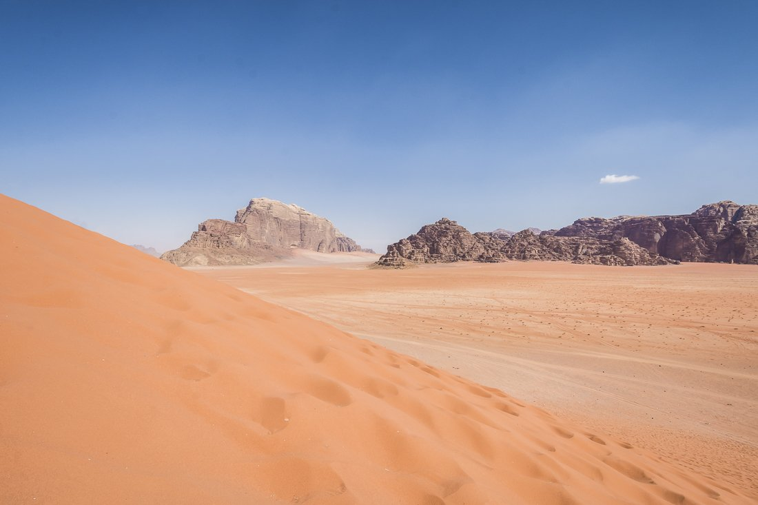 The Red Dune of Wadi Rum