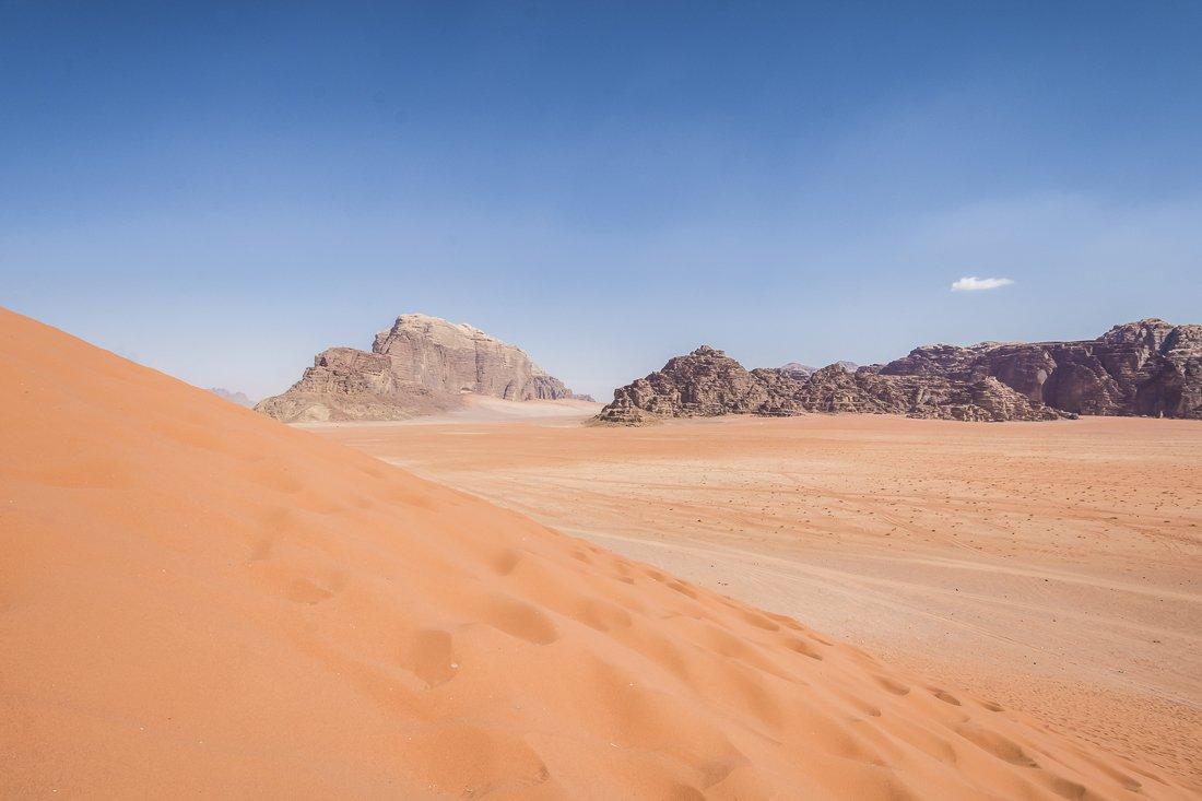 The Red Dune of Wadi Rum