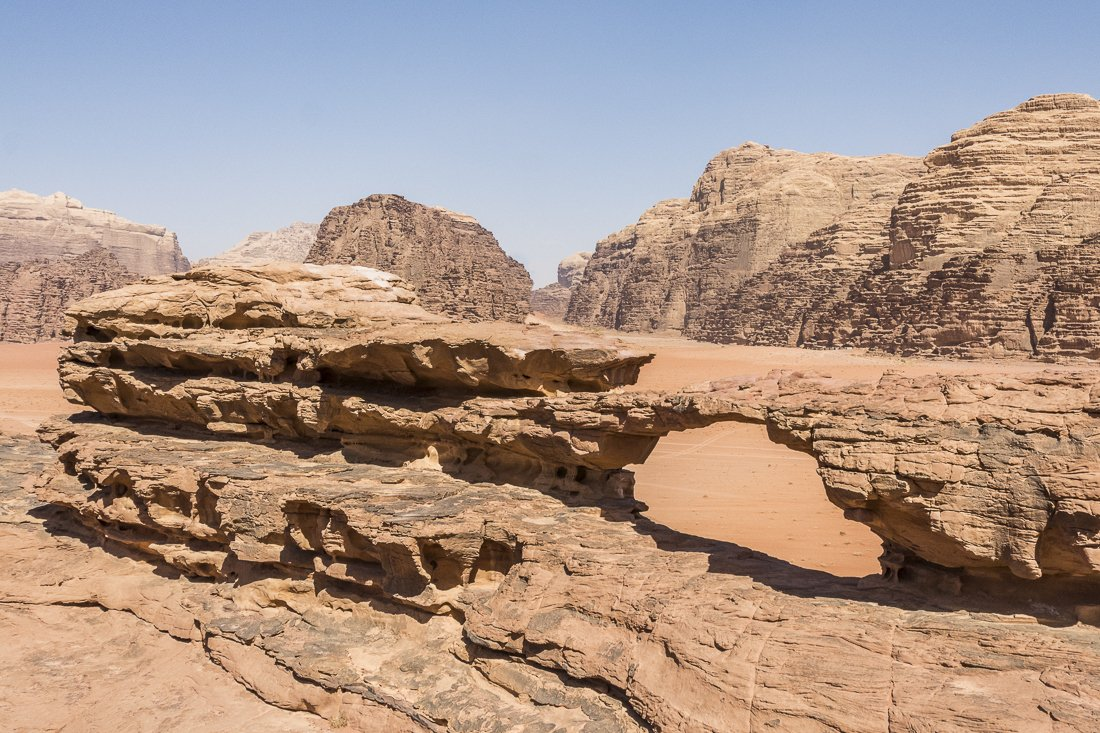 The Little Bridge in Wadi Rum