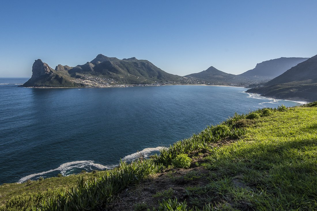Hout Bay, on the way to Cape of Good Hope, South Africa