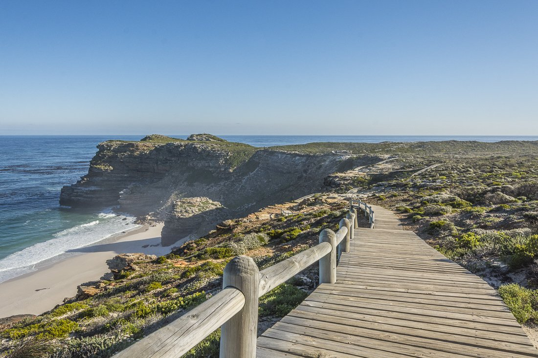 Cape of Good Hope, walking by Dias Beach
