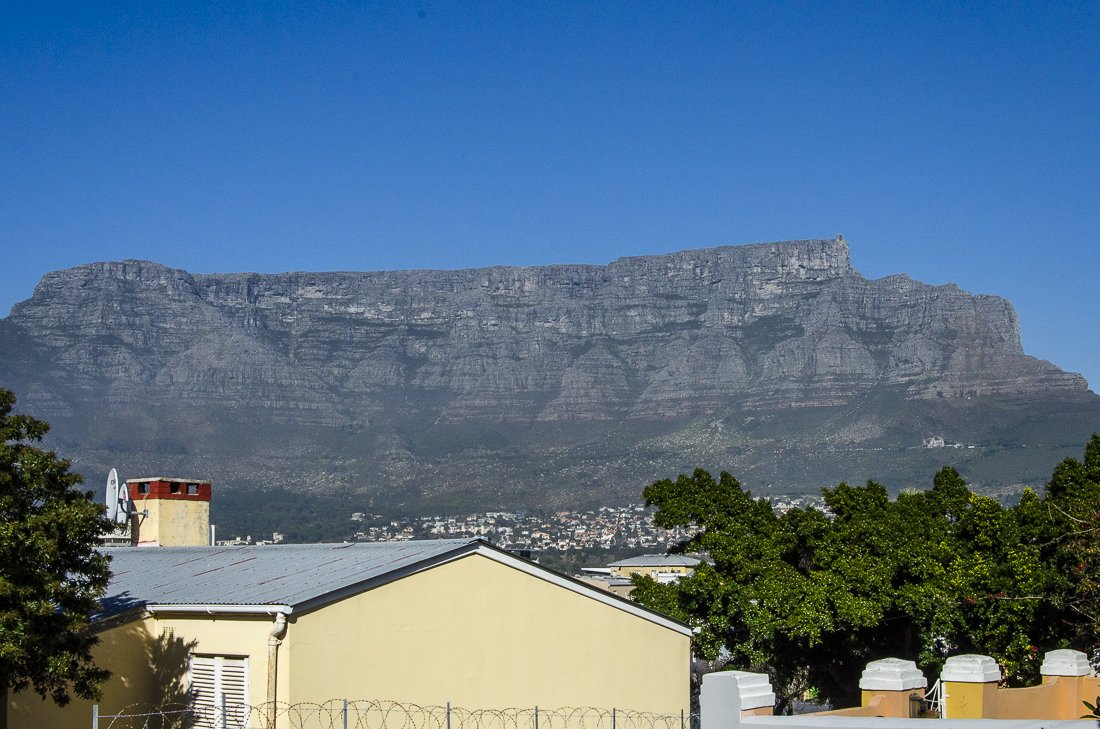 Table Mountain from Bo Kaap