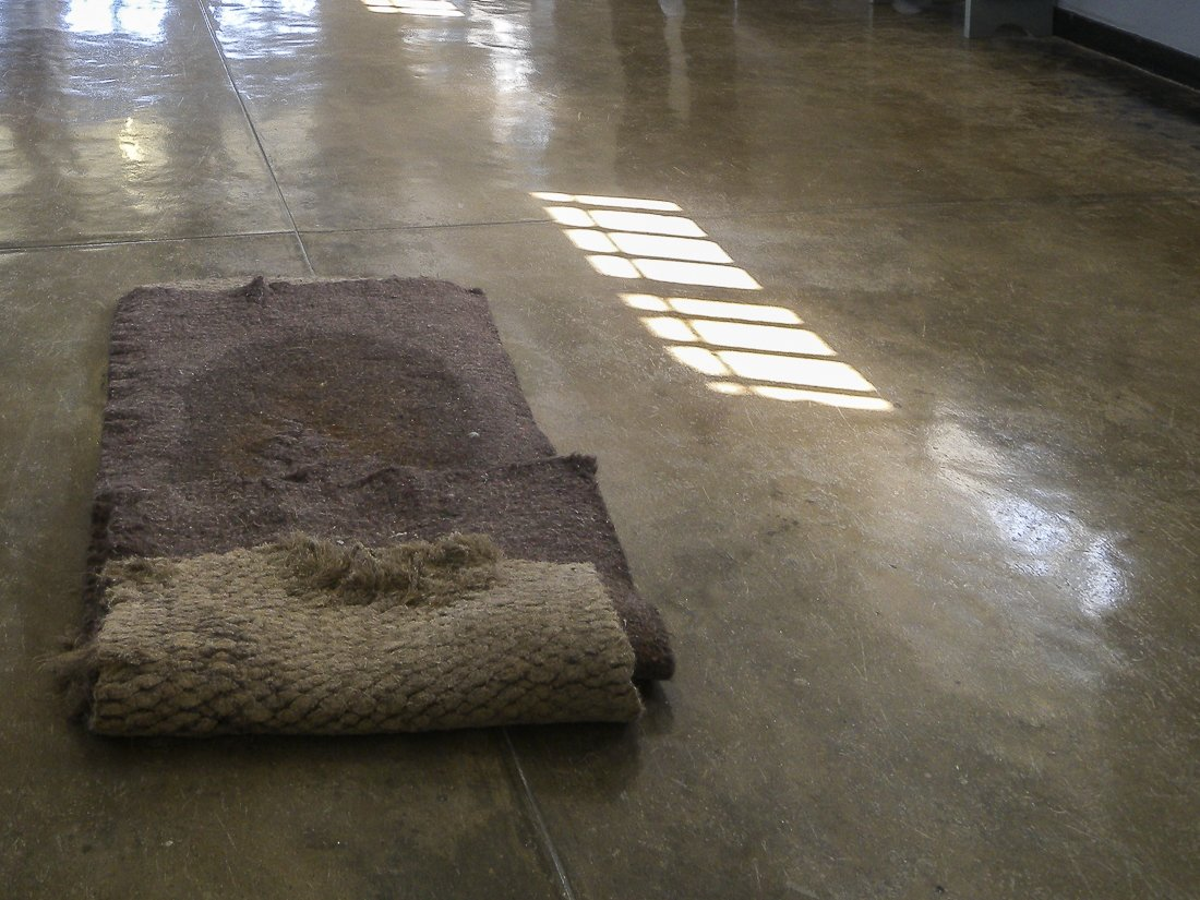 Sleeping mat in Robben Island