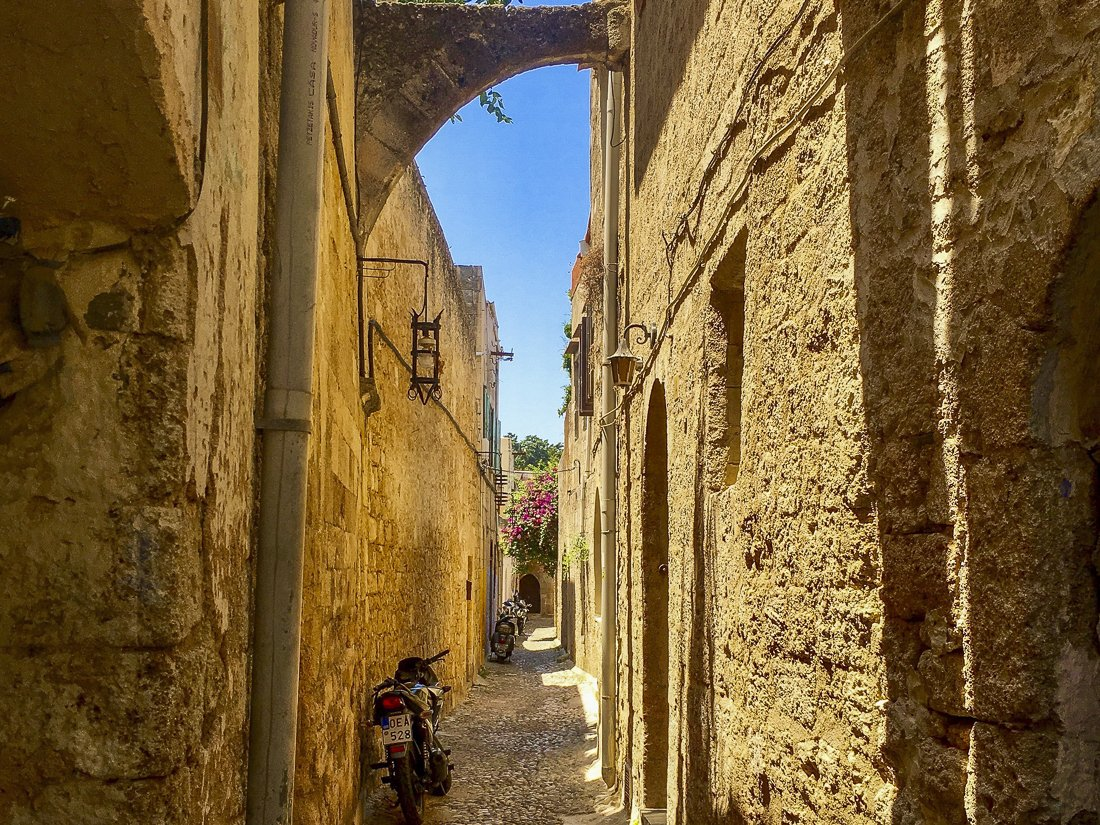 Get lost in the ancient alleyways of the old town