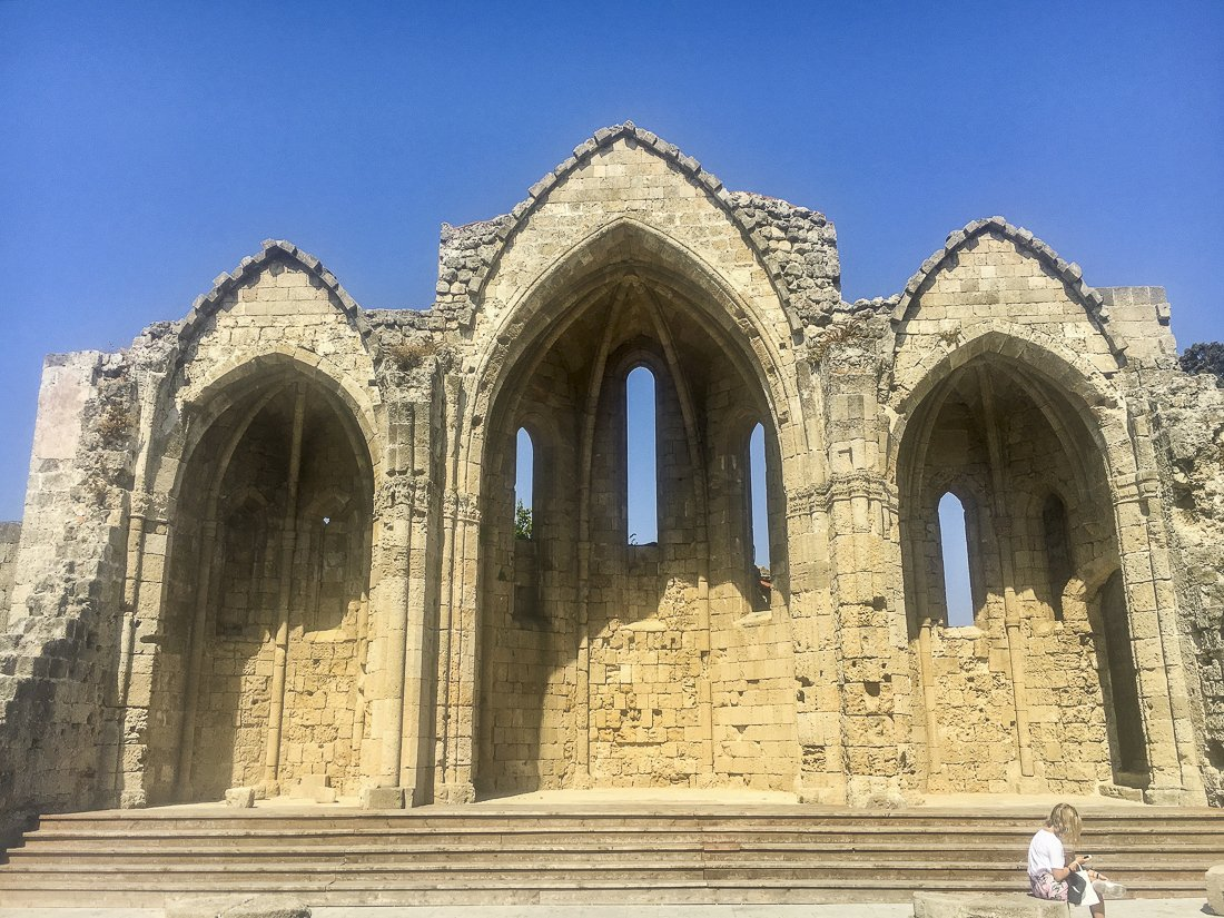 Remains at the Grand Palace