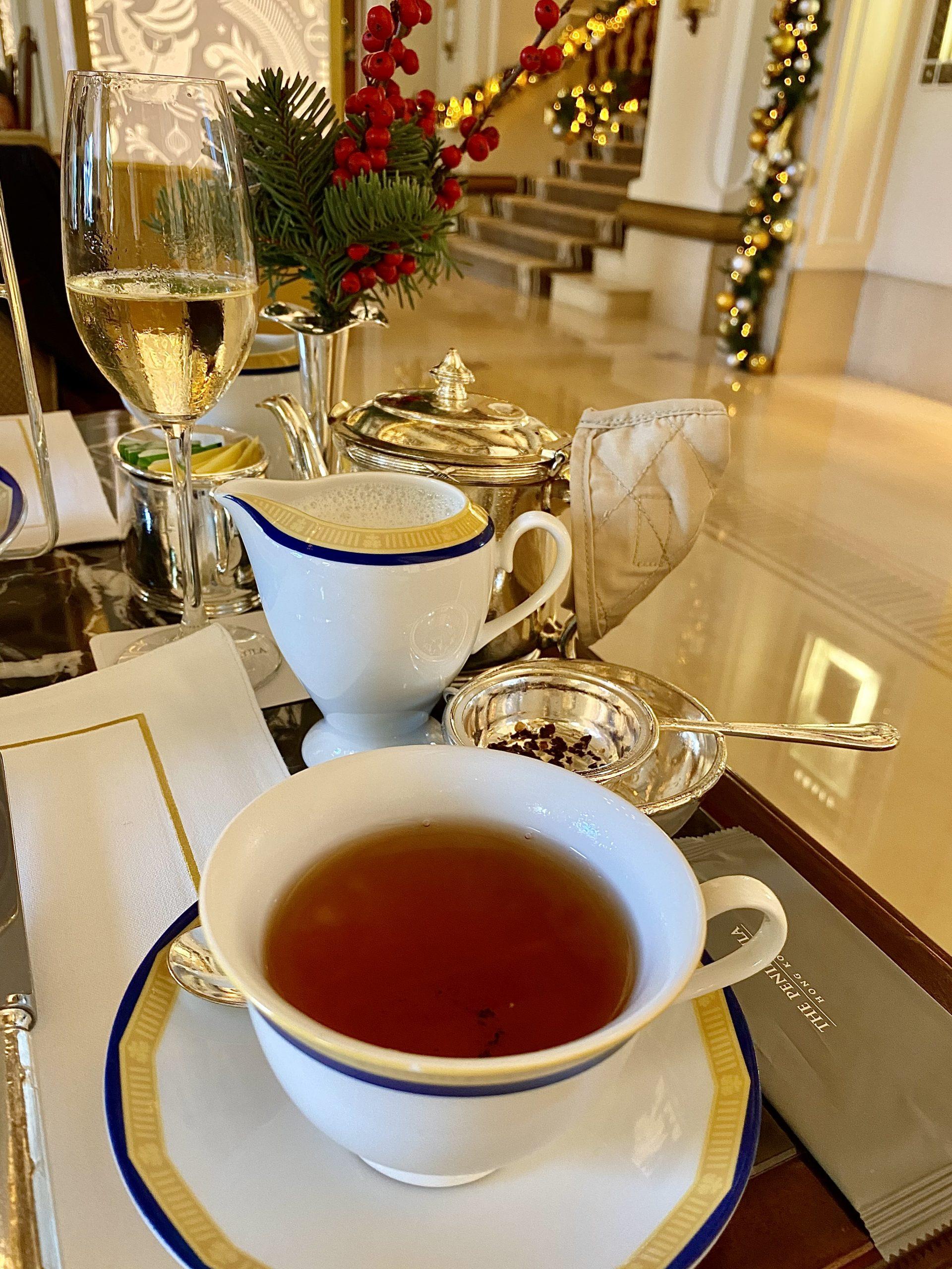 Afternoon tea at The Peninsula